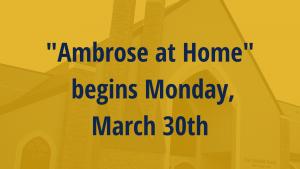 ambrose at home